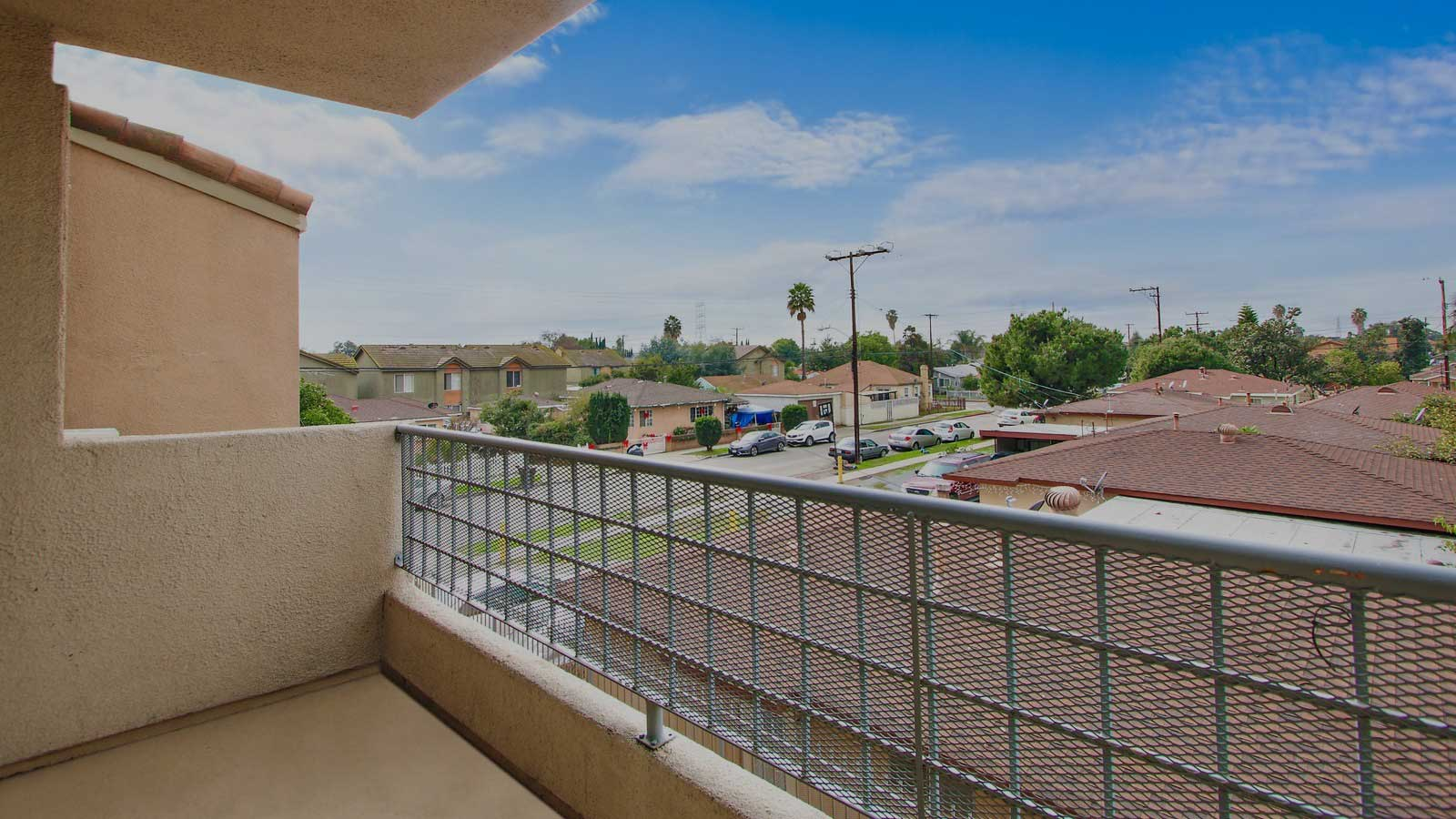 Paramount Terrace Apartment balcony view